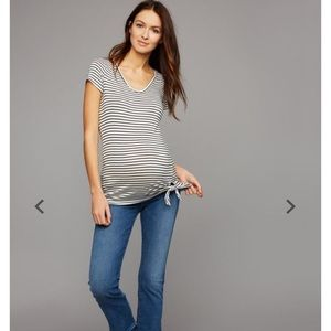 7 for all Mankind .Pea in the Pod Maternity Jeans